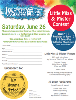 Little Miss & Mister Contest
